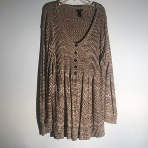 Lane Bryant Long Cardigan G14